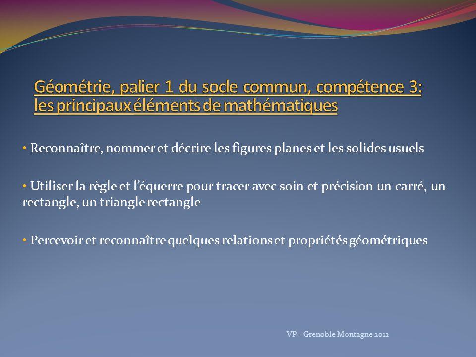 Découvrir le monde Formes et grandeurs CI D.Masson, V.
