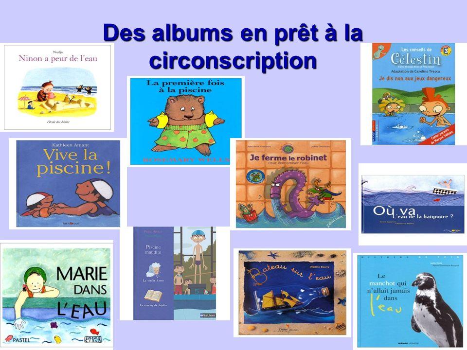 Des albums en prêt à la circonscription