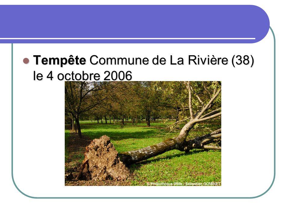 Tempête commune de La Tronche Tempête commune de La Tronche le 15 mai 2007 le 15 mai 2007