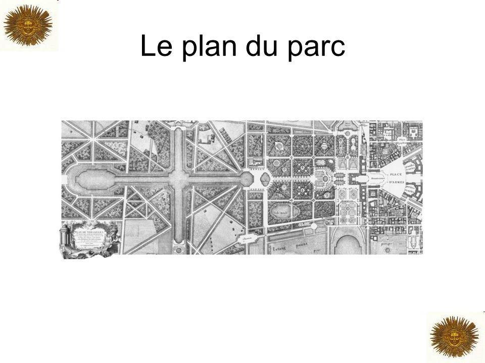 Le plan du parc