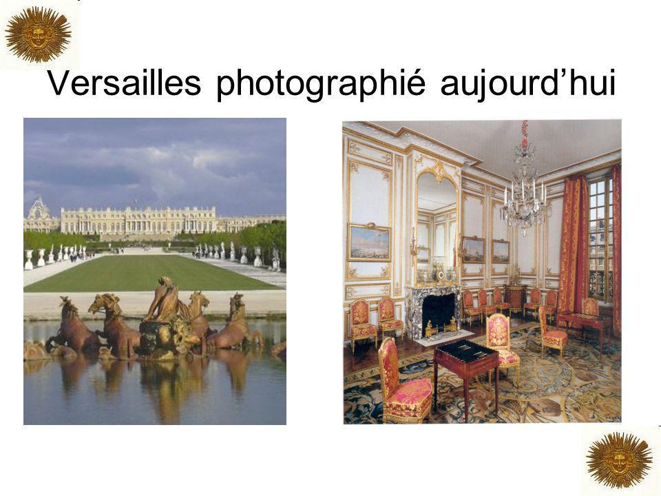 Versailles photographié aujourdhui