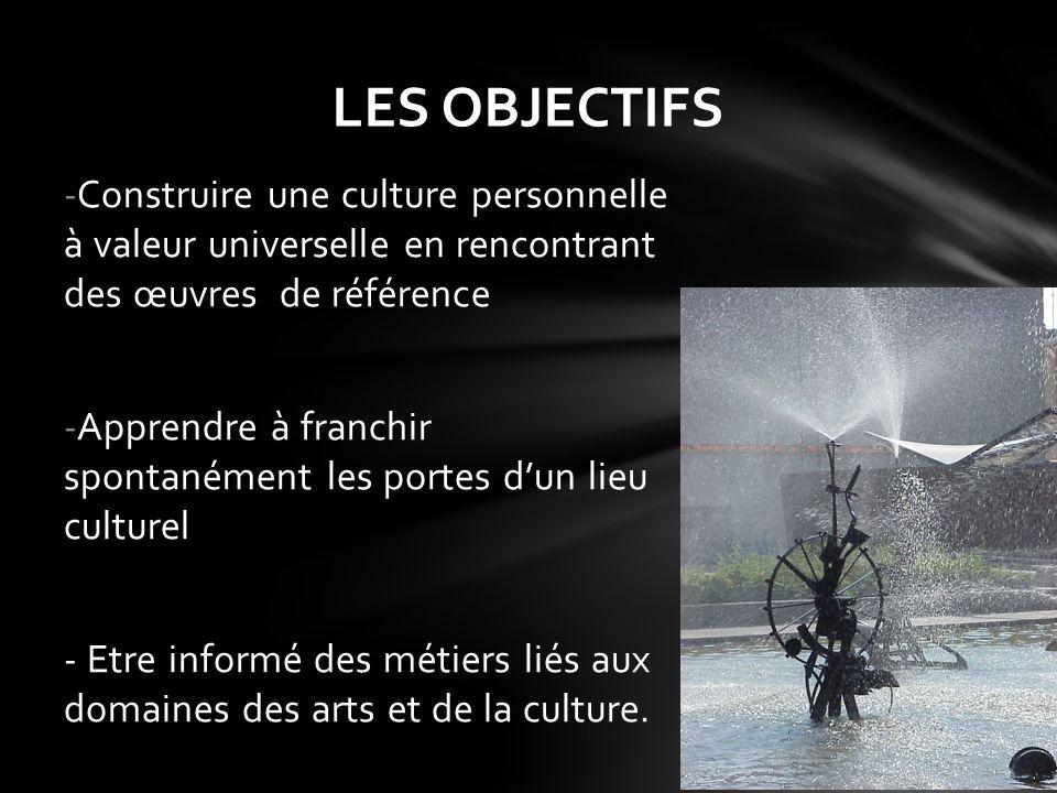 - Toutes les disciplines contribuent à cet enseignement - 4 disciplines sont particulièrement concernées: Arts plastiques Education musicale Histoire et Géographie Français - Le Travail est concerté Organisation