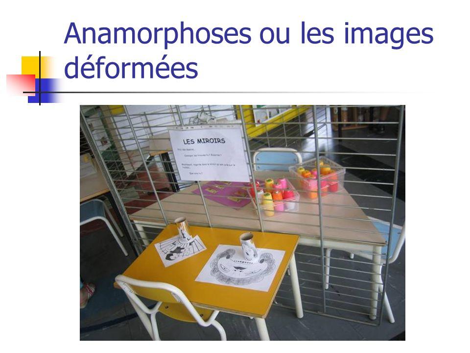 Anamorphoses ou les images déformées