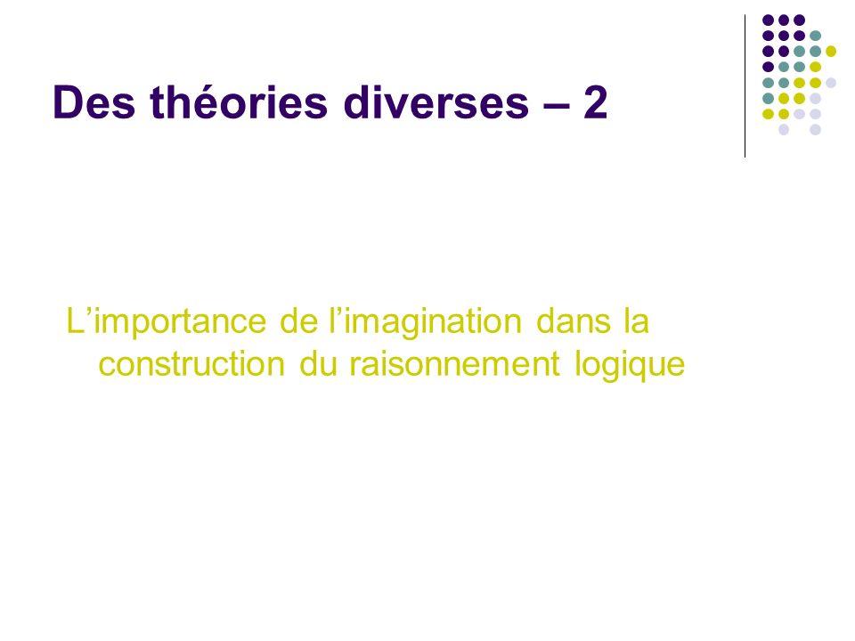 Des théories diverses – 3 Le rôle du langage dans le développement cognitif