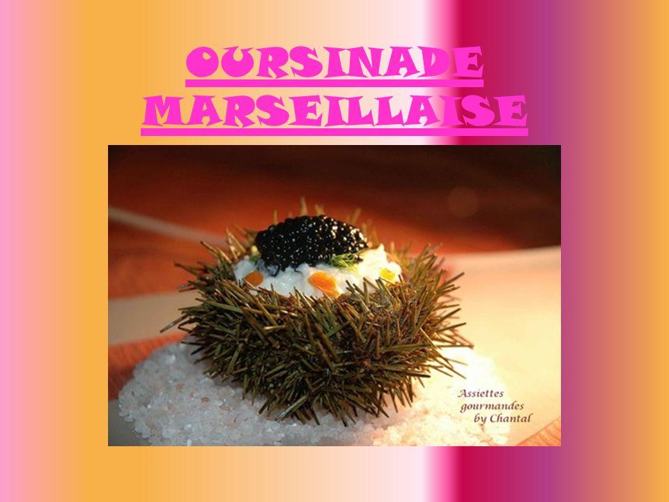 OURSINADE MARSEILLAISE