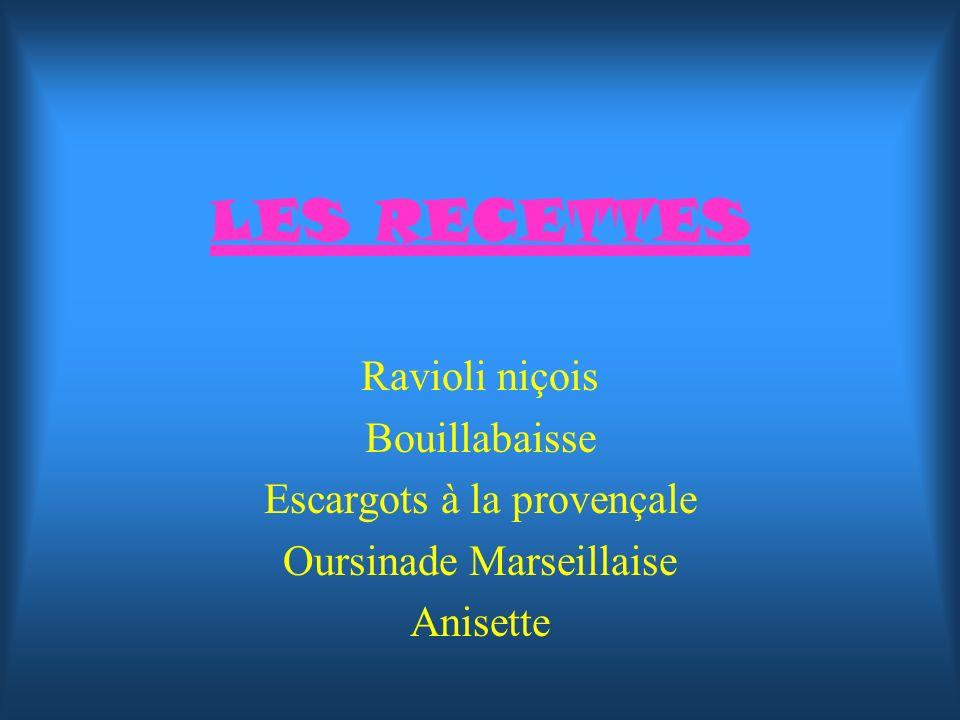 Oursinade marseillaise Origine : Marseille Préparation : 30 min Cuisson : 30 min Ingrédients (pour 4 personnes) : –24 oursins –4 tranches de baudroie –4 filets de daurade –1 oignon –1 carotte –2 jaunes dœufs –10 cl de vin blanc –40 cl de fumet de poisson –Huile dolive –Farine –persil/laurier –Sel, poivre –pain