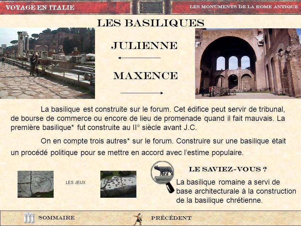 lexi6 LArc de constantin L'arc de Constantin est composé en partie de sculptures et de décorations provenant de différents monuments. PrÉcÉdent Les Mo