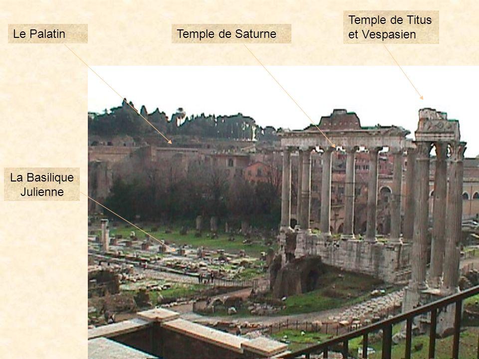 photo221 Le Temple de Saturne Les Rostres Larc de Septime Sévère
