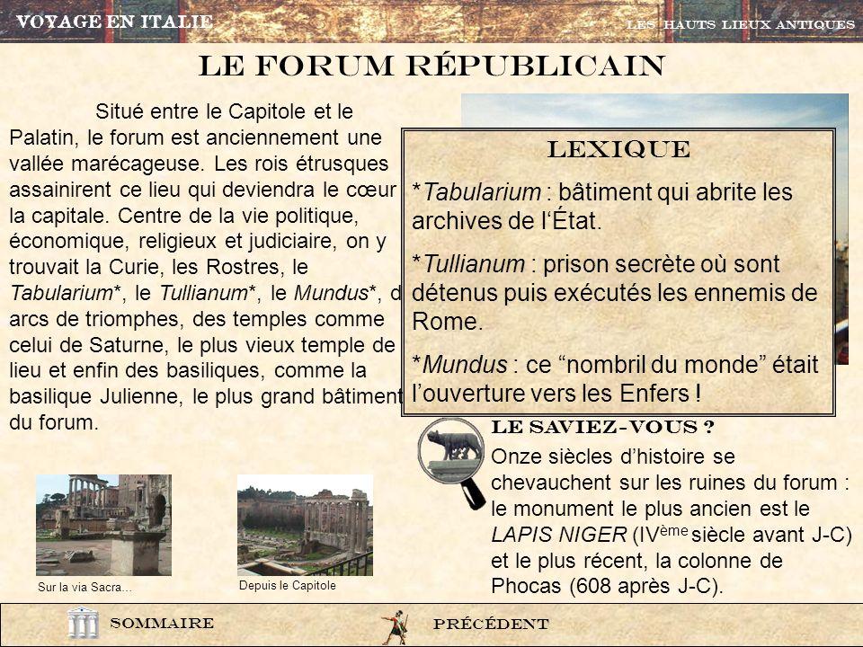 photo222 Temple de Saturne Temple de Titus et Vespasien Le Palatin La Basilique Julienne