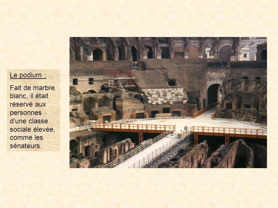 photo11 Les coulisses : Sous larène tout un système de passages, de vestiaires et de souterrains était installé.