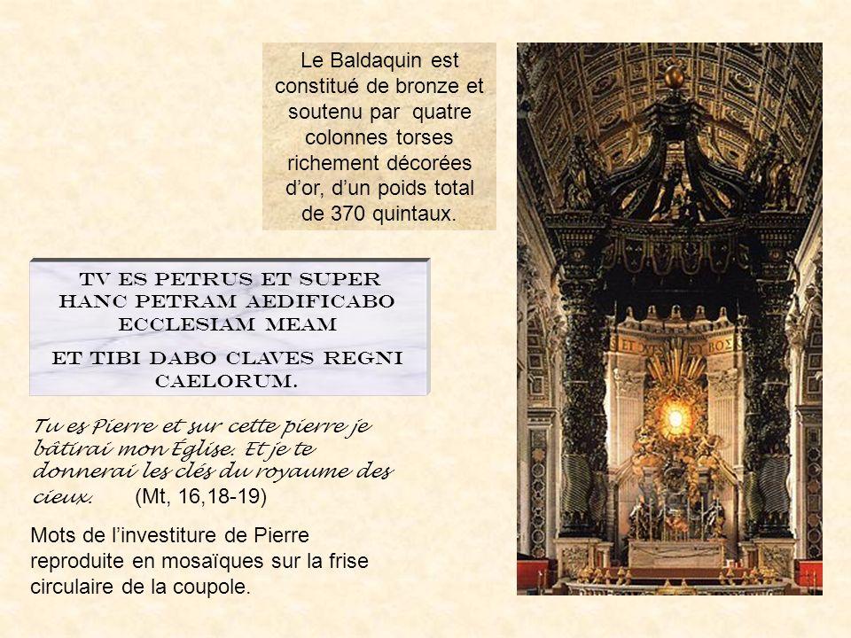 basstpier32 La basilique Saint pierre PrÉcÉdent ROME BAROQUE SOMMAIRE Le baldaquin La crypte La façade de la basilique VOYAGE EN ITALIE Un portique ri