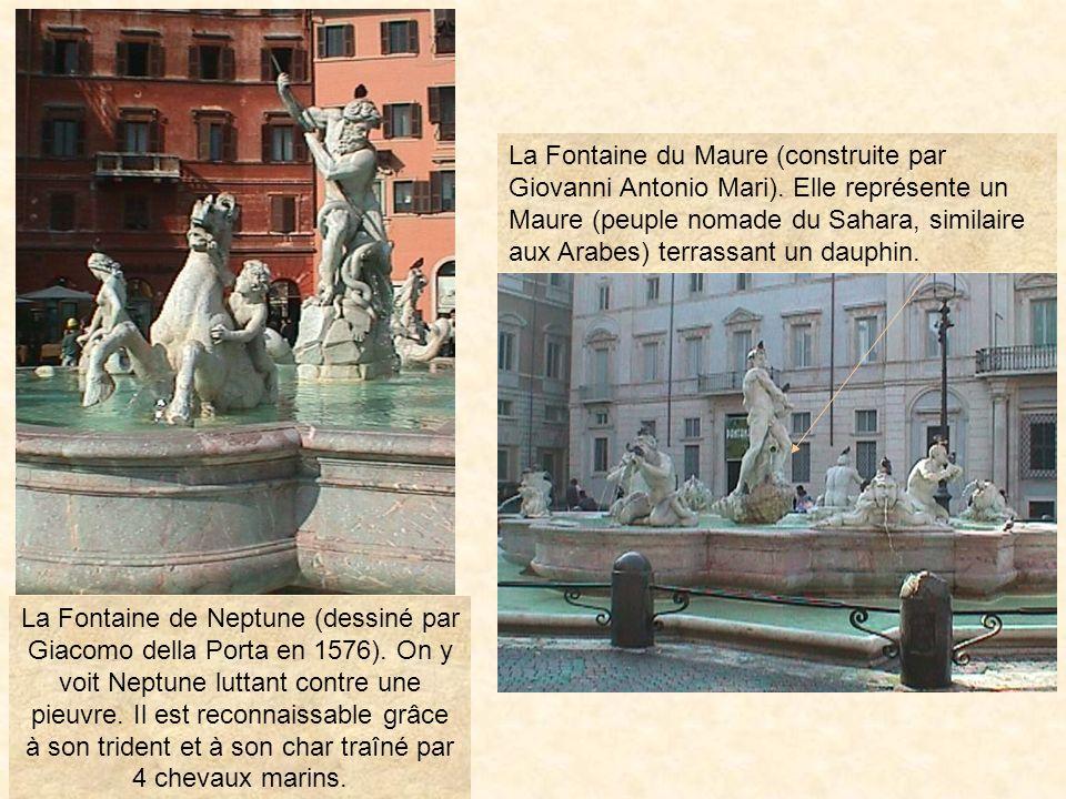 photo331 Chaque statue représente un continent (Afrique, Europe, Asie, Amérique) et un fleuve (Nil, Danube, Gange, Rio de la Plata). LOcéanie est abse