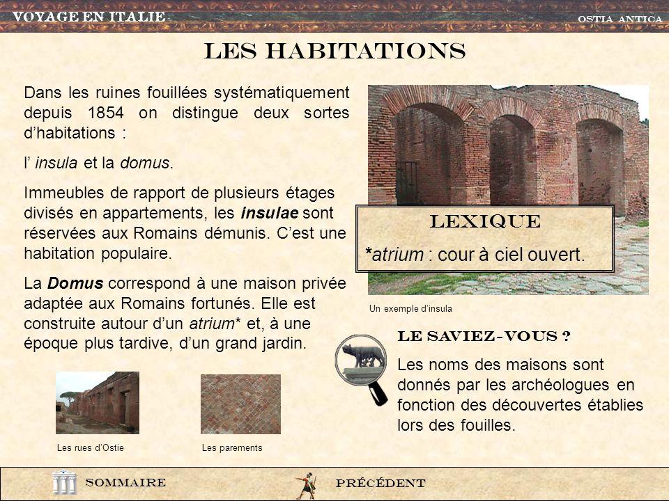 photo442 Les maisons étaient construite en briques et en pierres taillées. Le mortier, associé à la brique, permettait dimposantes constructions, comm