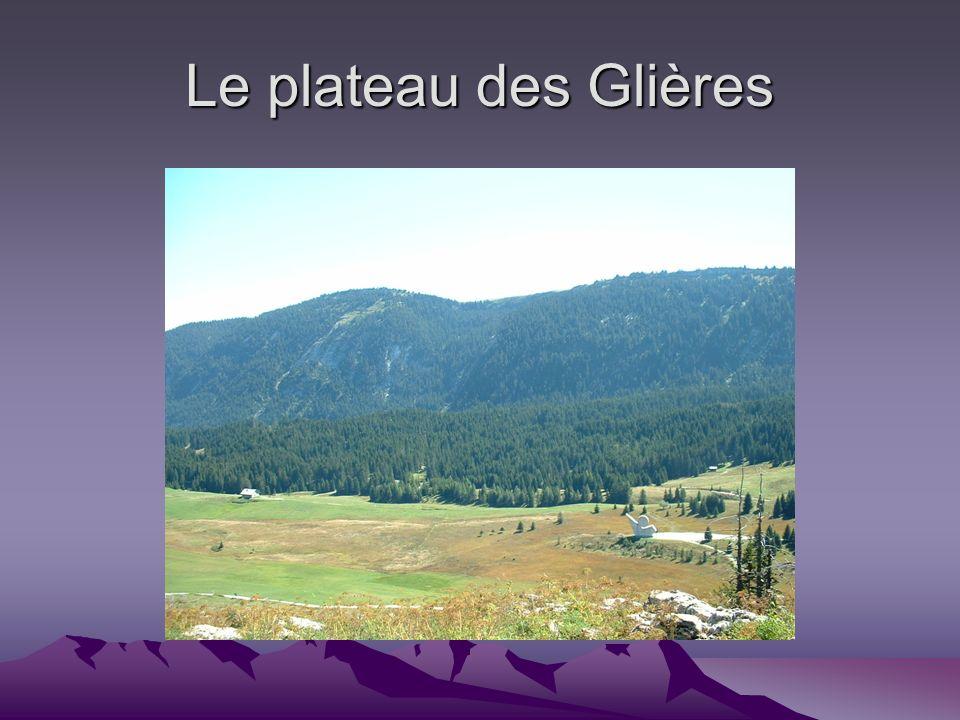 Le plateau des Glières