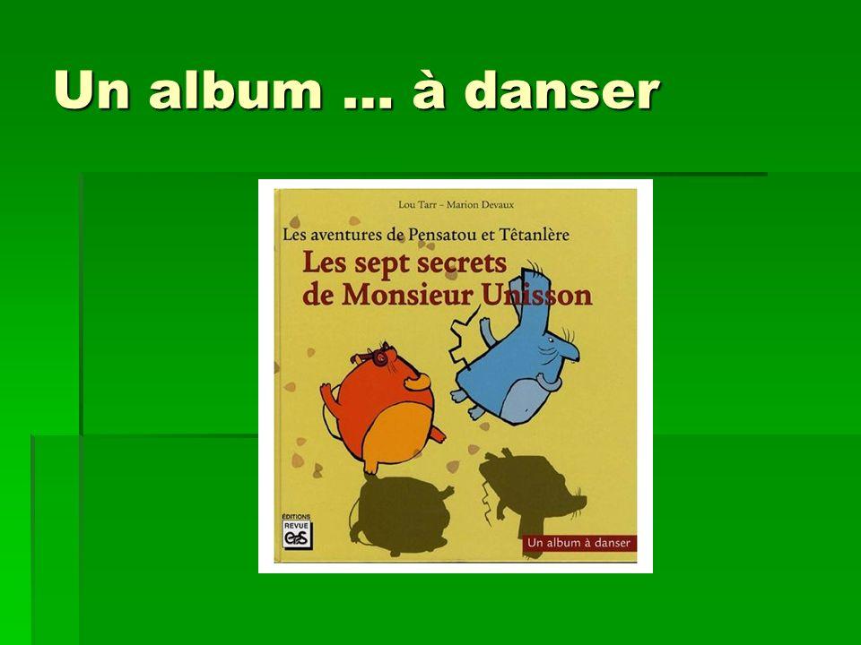 Un album … à danser