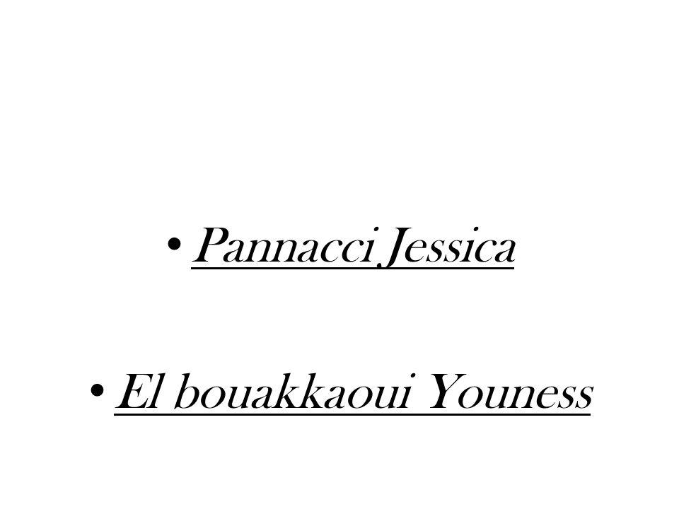 Pannacci Jessica El bouakkaoui Youness