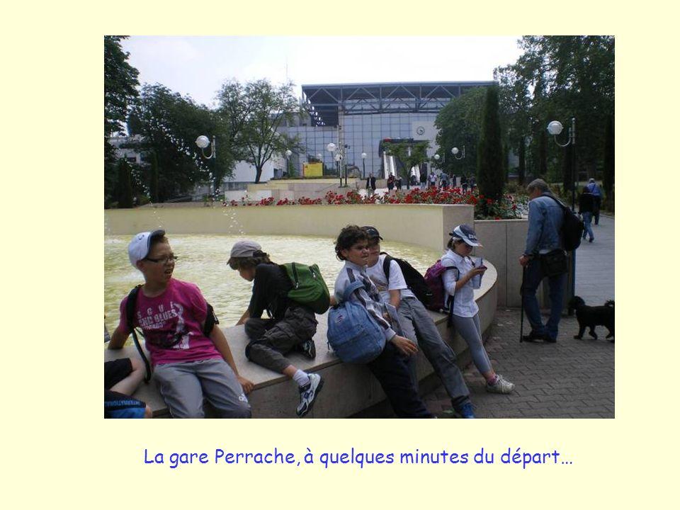 La gare Perrache, à quelques minutes du départ…