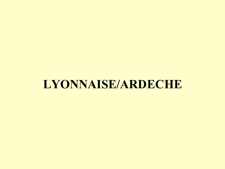 LYONNAISE/ARDECHE