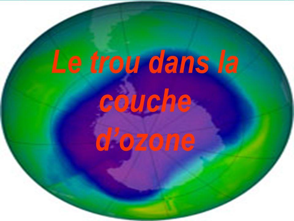 Tout dabord, lozone (O 3 ) est une forme chimique particulière de loxygène, très instable et réactive.