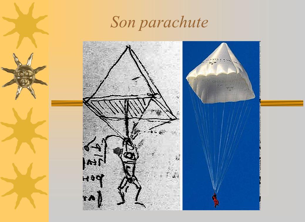 Son parachute