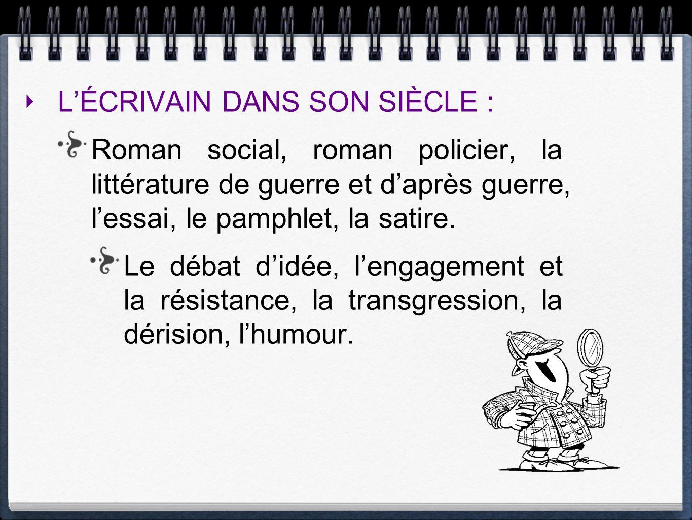 LE VOYAGE, LE PARCOURS INITIATIQUE, LEXIL : Les récits dexploration, dévasion, daventure, le roman dapprentissage.