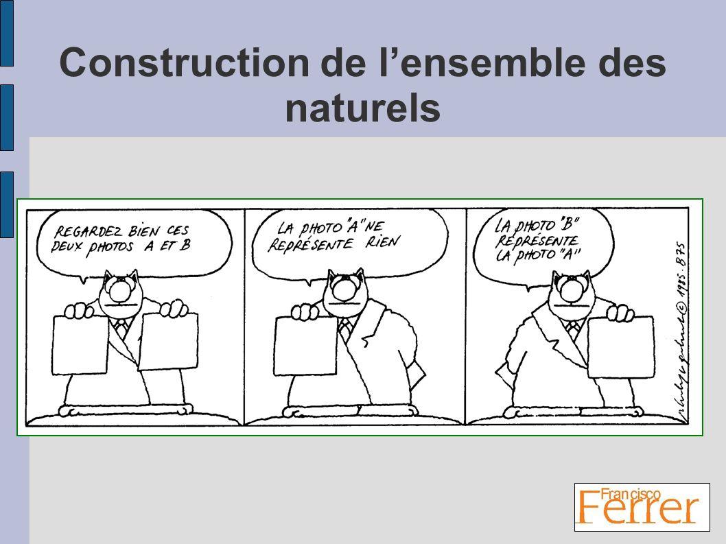Construction de lensemble des naturels