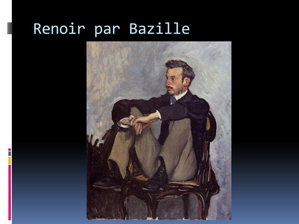 Renoir par Bazille