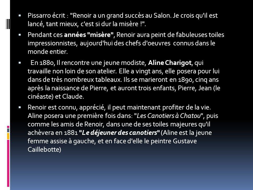 Pissarro écrit :