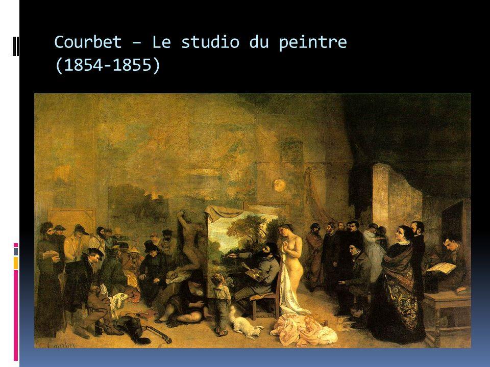 Courbet – Le studio du peintre (1854-1855)