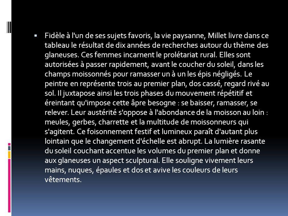 La toile de Manet représentait une scène de la bohème parisienne s accordant peu avec la morale puritaine de l époque : dans un décor champêtre près d une rivière, une jeune femme, au sortir d un bain, est assise nue, ses vêtements posés à côté d elle, entourée par deux hommes en costume assis pour un pique-nique.