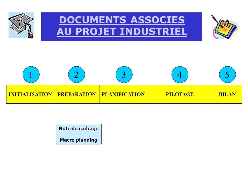 NOTE DE CADRAGE QUAND?COMMENT? Document d entreprise, formulaire académique, document O3 Après le stage de première année ou au début de la première p