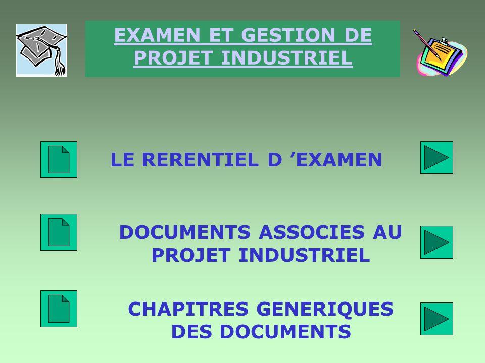 Planning PLANIFICATION 3 INITIALISATION 1 PREPARATION 2 BILAN 5 PILOTAGE 4 DOCUMENTS ASSOCIES AU PROJET INDUSTRIEL