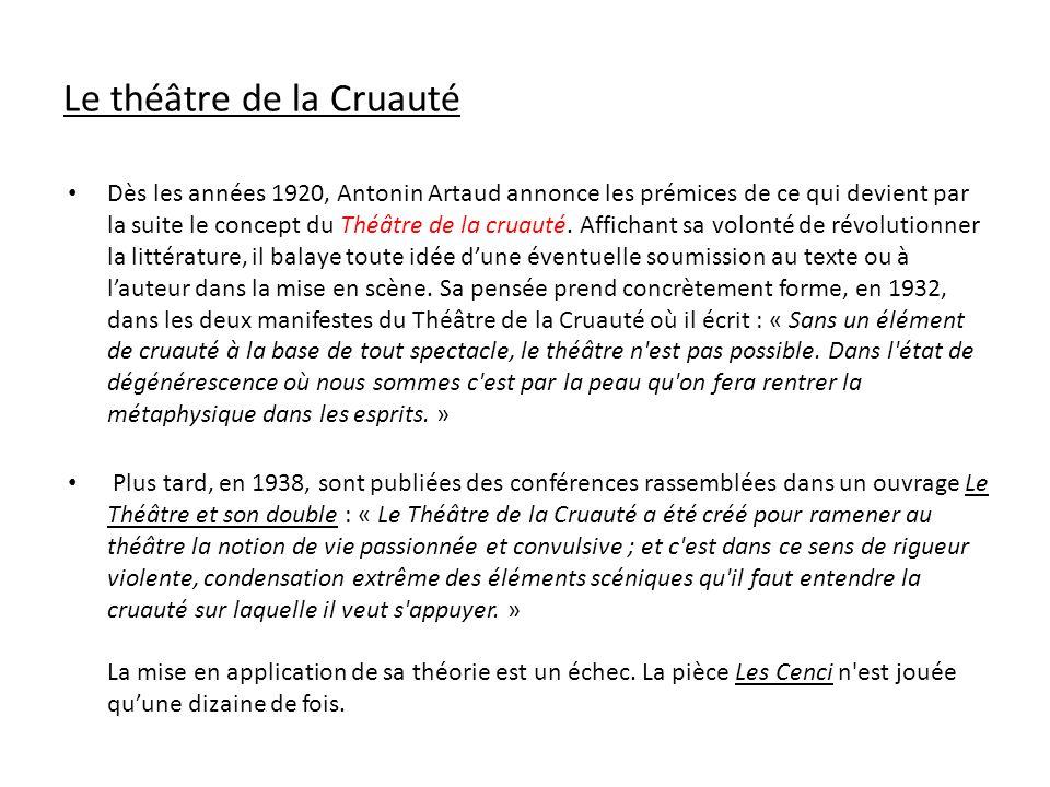 Antonin Artaud et le cinéma « J aime le cinéma.J aime n importe quel genre de films.