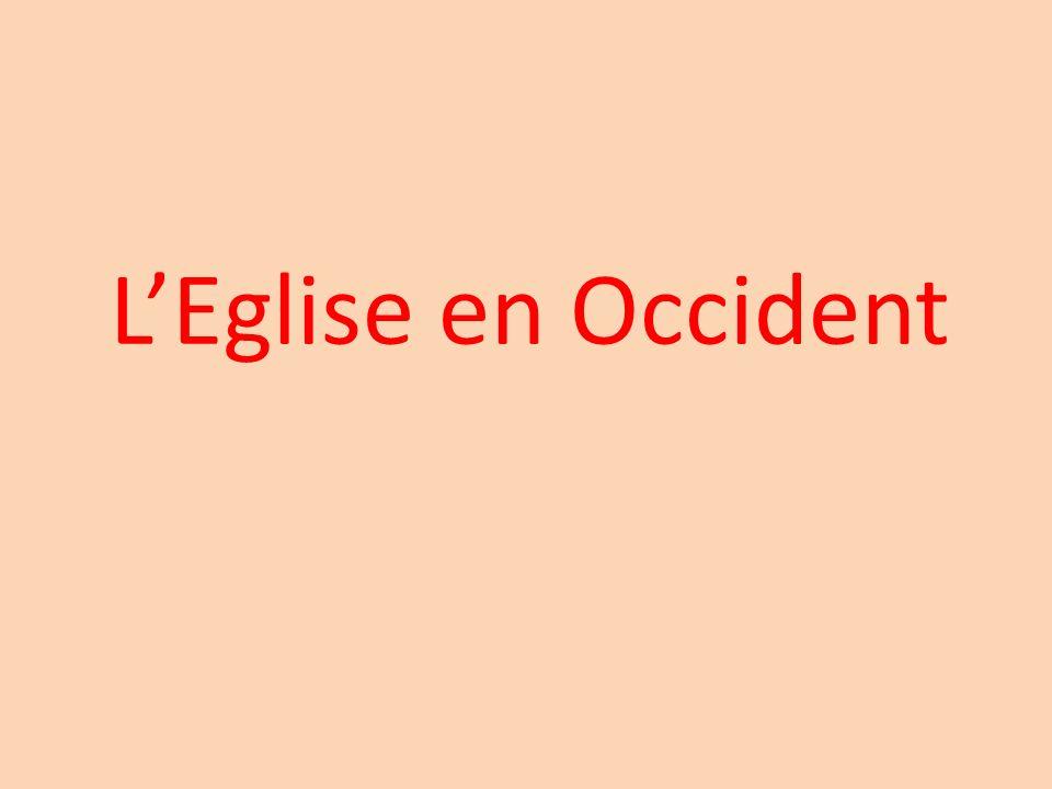 2)Lorganisation de lEglise. (Manuel pages 68 et 69)