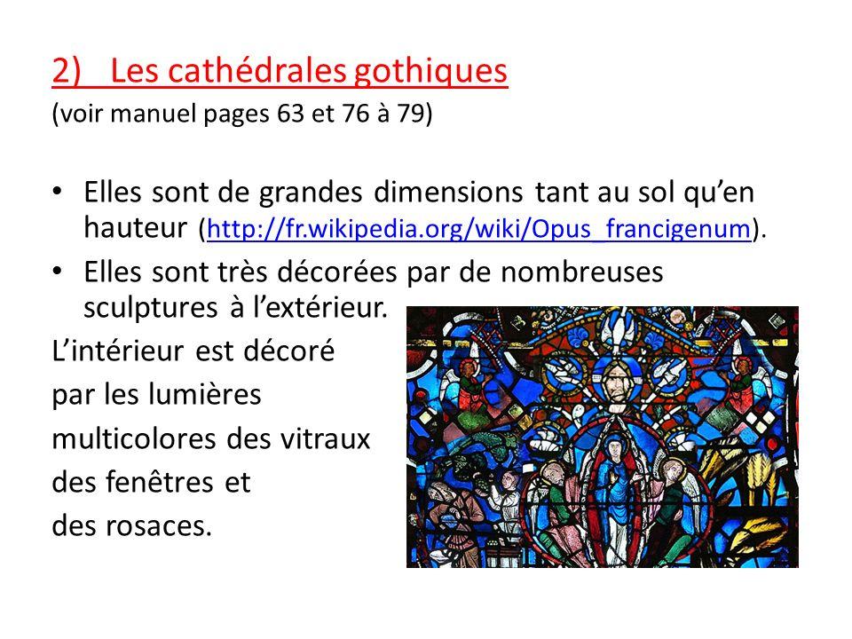 B) Lart gothique 1)Un art religieux nouveau Au 12 ème siècle, dans le nord de la France, apparaît un nouvel art religieux succédant à lart roman: lart