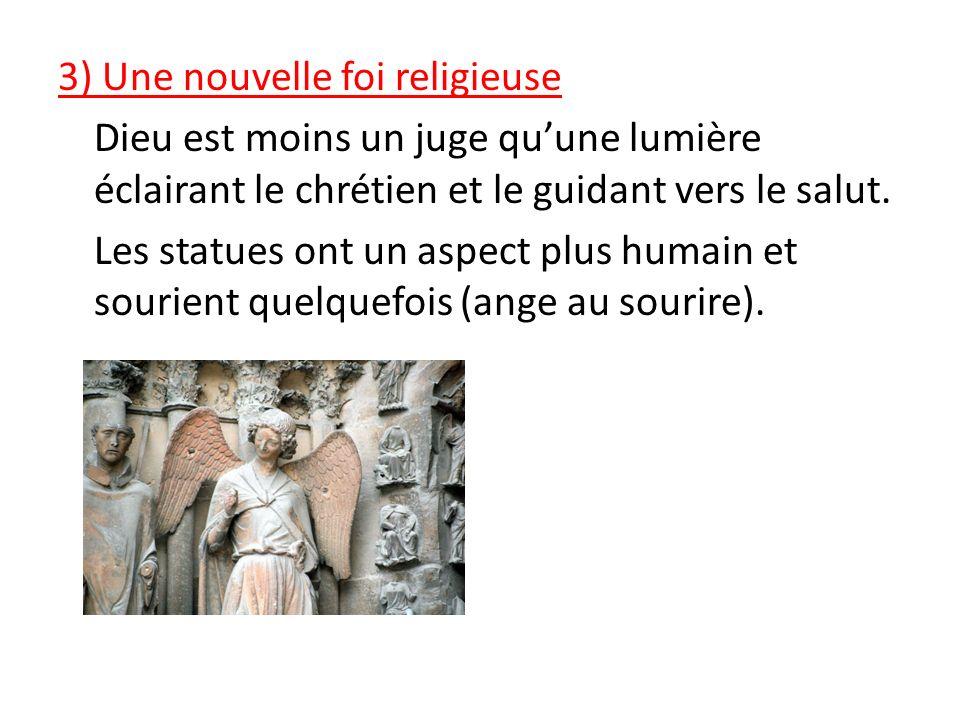 2)_ Les cathédrales gothiques (voir manuel pages 63 et 76 à 79) Elles sont de grandes dimensions tant au sol quen hauteur (http://fr.wikipedia.org/wik