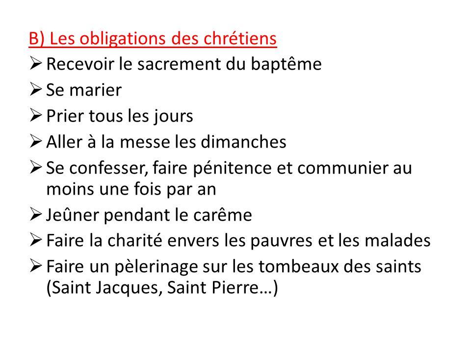 A)Les croyances des chrétiens Etre chrétien, cest avoir la foi: croire en Dieu et en Jésus-Christ et dans son message dans les évangiles du Nouveau Te