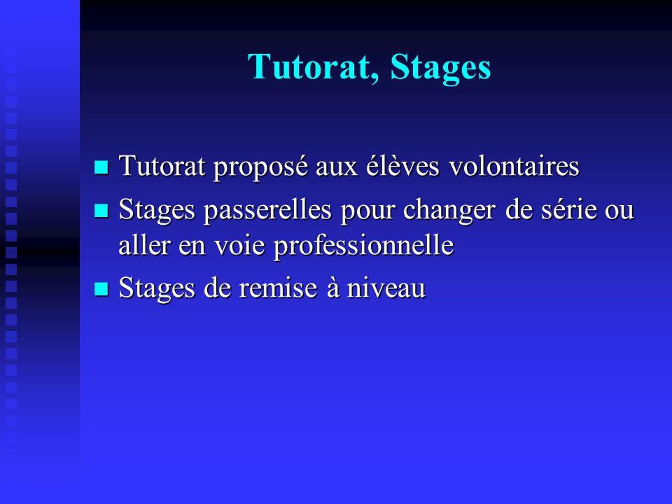 Accompagnement personnalisé Objectif : éviter les redoublements, faciliter les réorientations en 1ere ou terminale, préparer à lenseignement supérieur