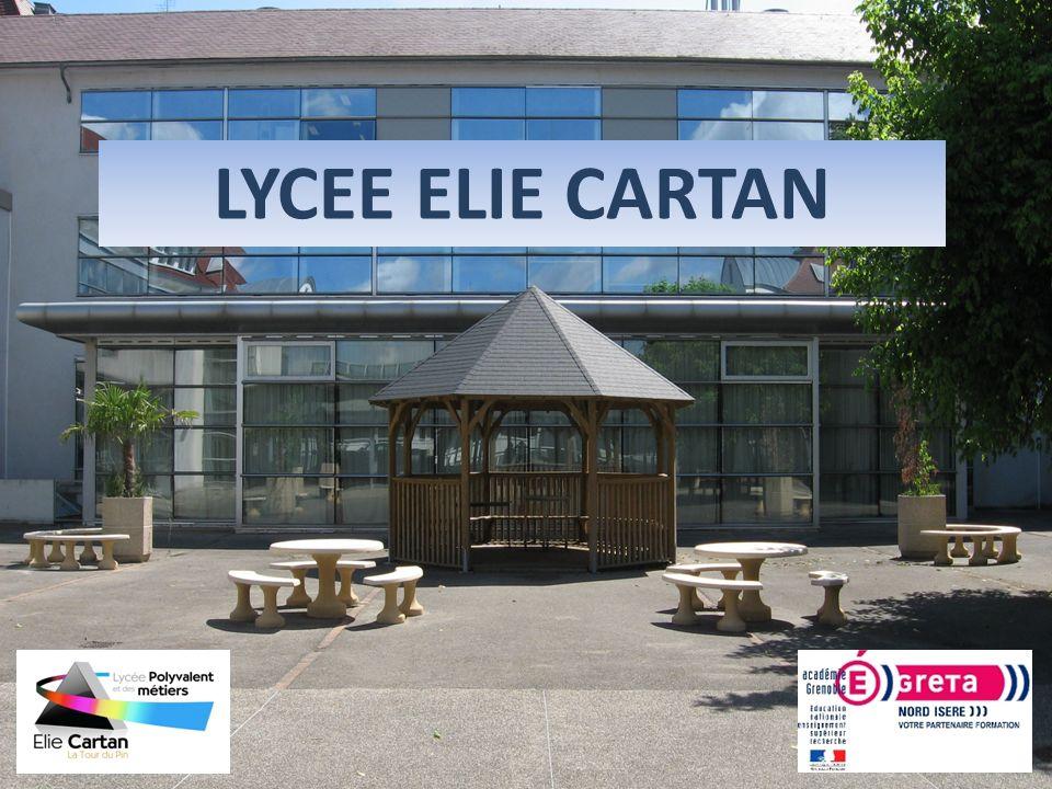 1 LYCEE ELIE CARTAN