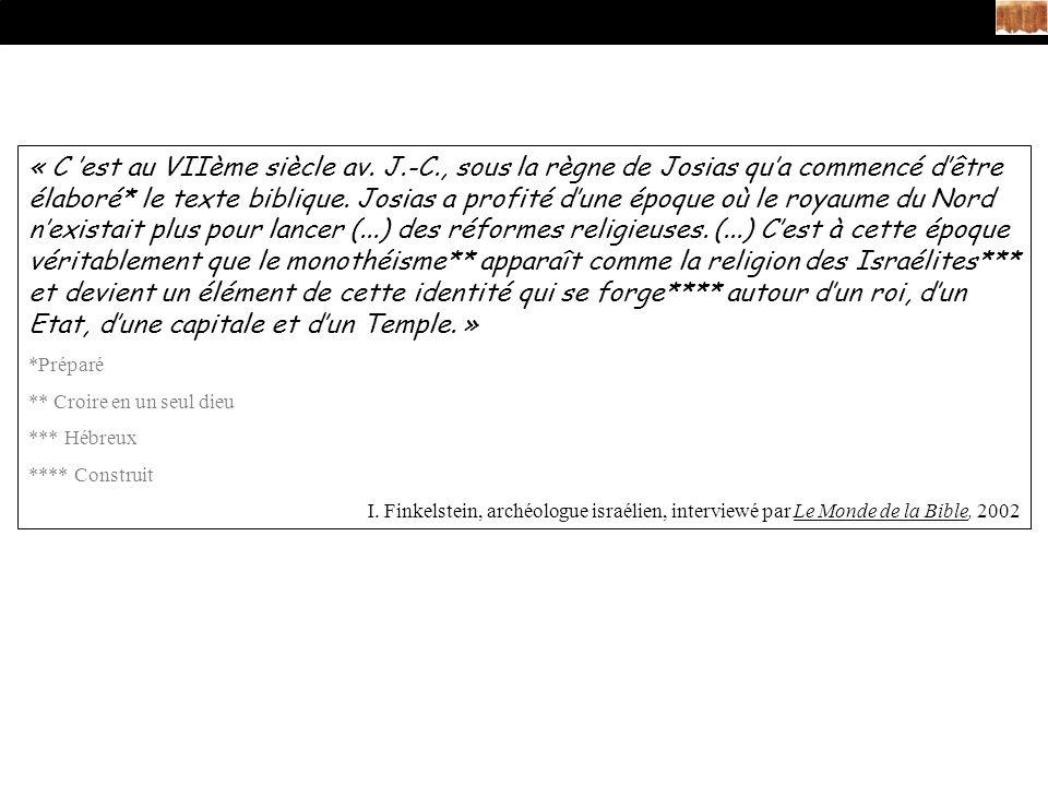 « C est au VIIème siècle av.
