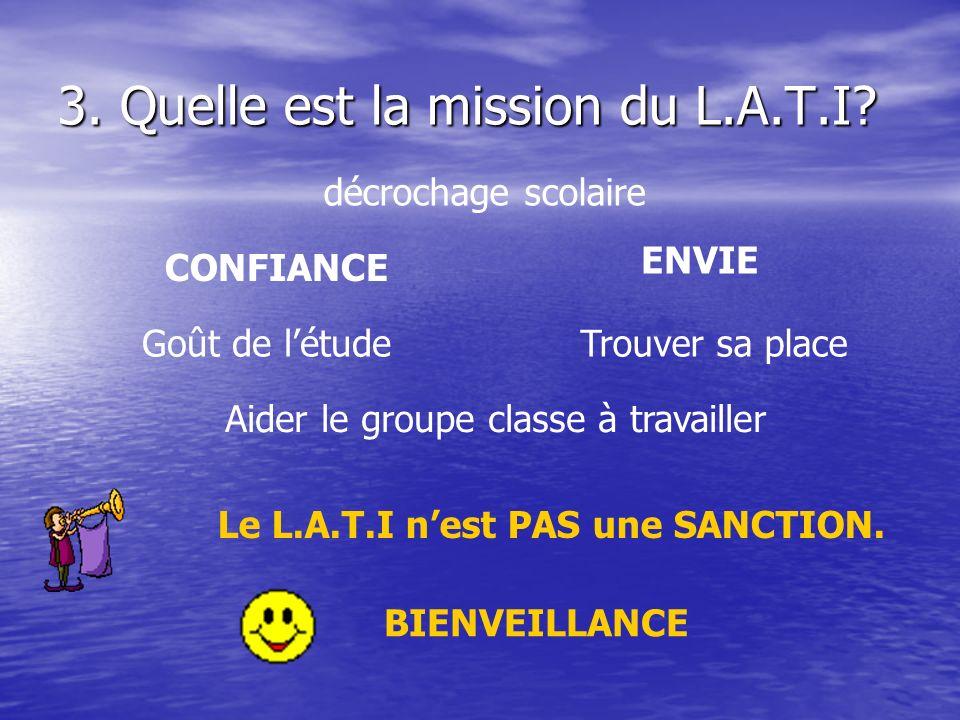 3.Quelle est la mission du L.A.T.I.