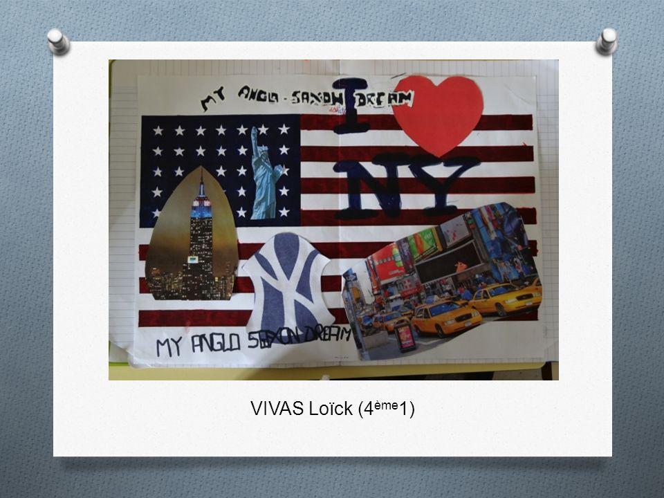 VIVAS Loïck (4 ème 1)