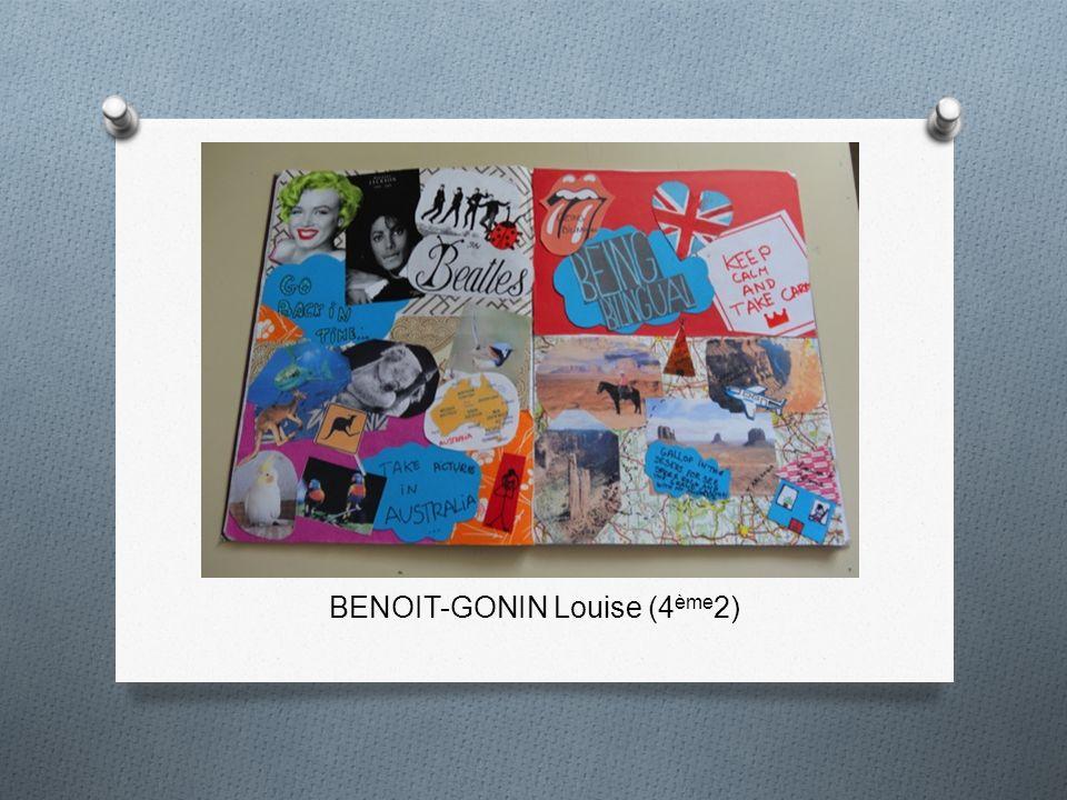 BENOIT-GONIN Louise (4 ème 2)