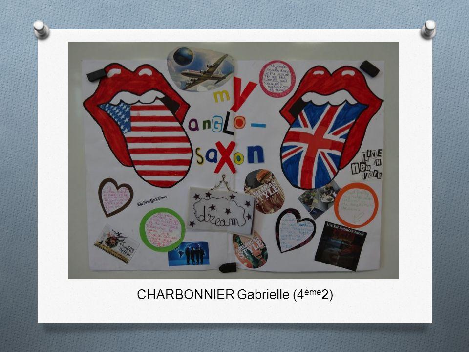 CHARBONNIER Gabrielle (4 ème 2)