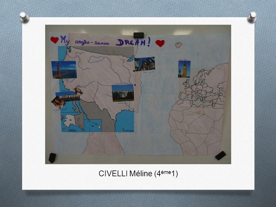 CIVELLI Méline (4 ème 1)