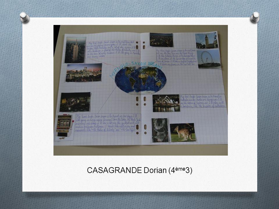 CASAGRANDE Dorian (4 ème 3)