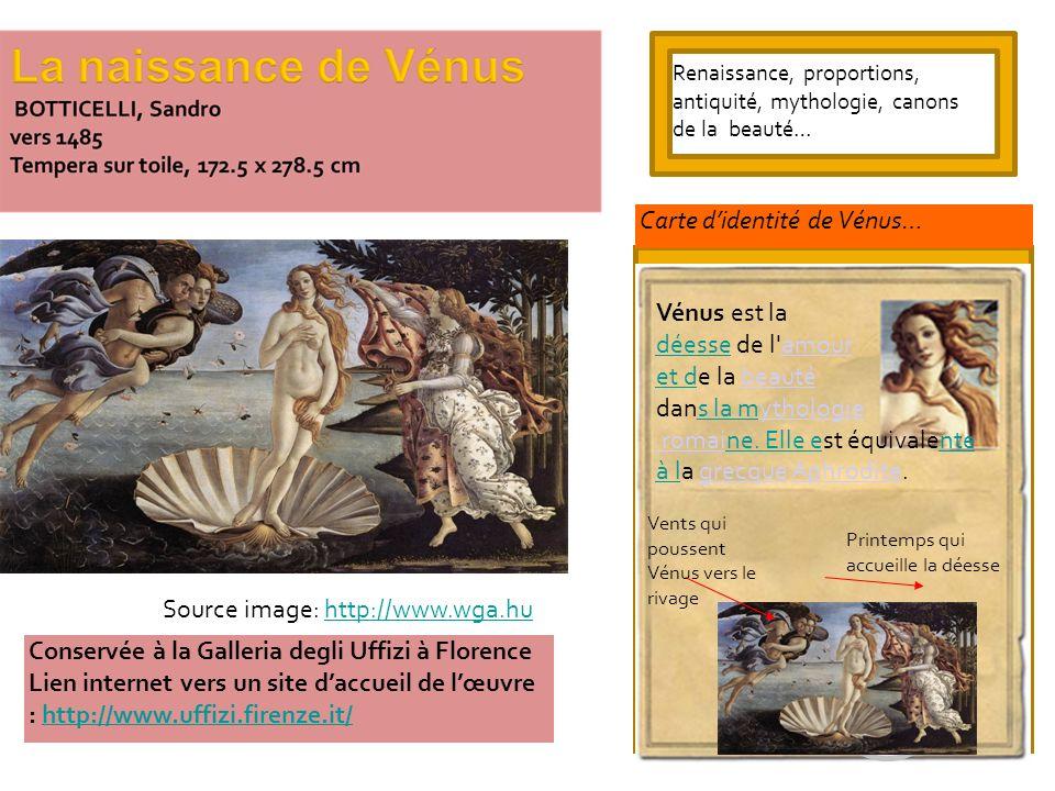 Conservée à la Galleria degli Uffizi à Florence Lien internet vers un site daccueil de lœuvre : http://www.uffizi.firenze.it/http://www.uffizi.firenze