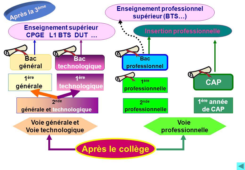 La réforme du lycée Général et Technologique La classe de Seconde Générale et Technologique à la rentrée 2010