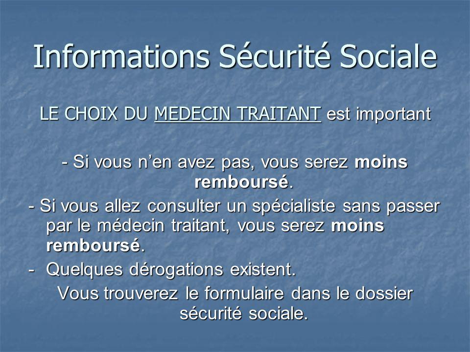 Informations Sécurité Sociale Carte Vitale / CEAM - Avant de la recevoir et dès lenregistrement de votre dossier, une attestation de droits provisoire