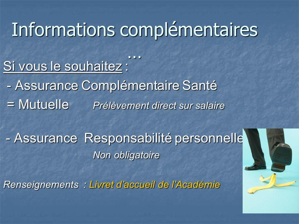 Complémentaire Santé - La MGEN, peut vous proposer une complémentaire santé. - Moyennant une cotisation mensuelle de 25,92 (pour les moins de 30 ans),